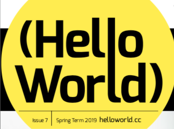 primary computing Hello World magazine