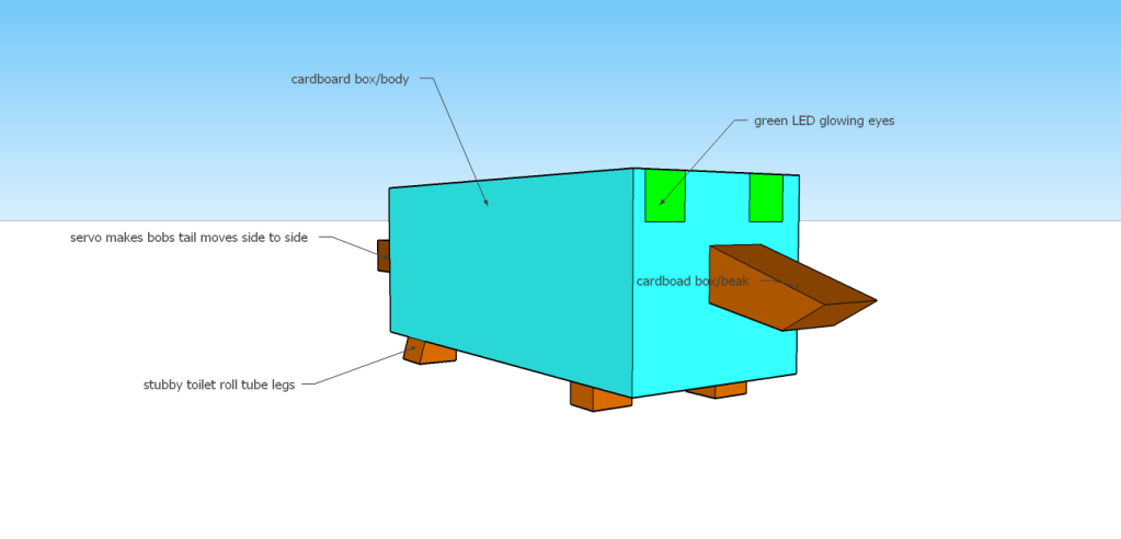 Sketchup Crumble Design Primary Computing