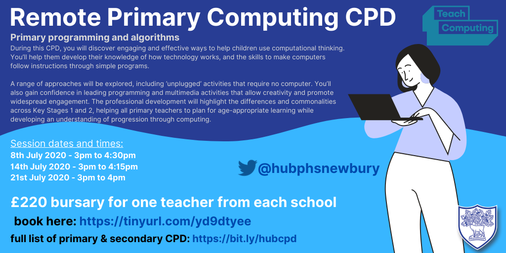 Primary Computing - NCCE Programming and Algorithms Course - July 2020