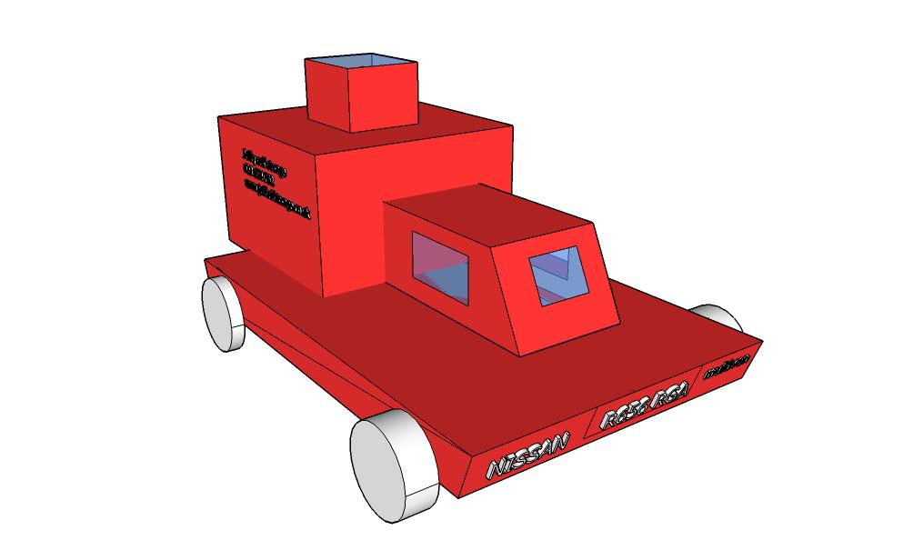 Primary Computing CAD Sketchup Car