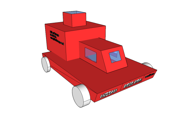 Primary Computing CAD Sketchup Car