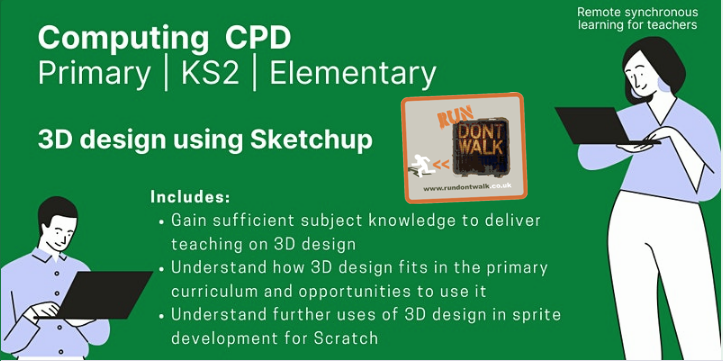 Primary Computing Run Don't Walk Training - CAD (Sketchup)